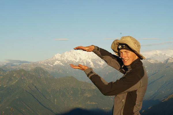 21 Jahre. Alpinist