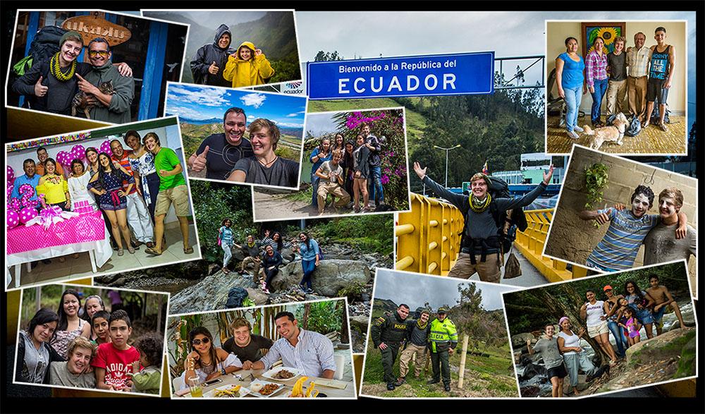 Meine Freunde aus Kolumbien! Dankeschön! Bis bald!