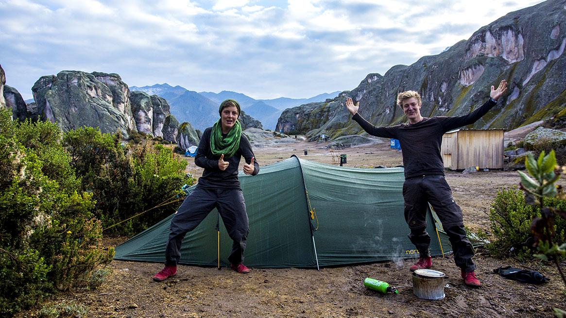 Benni & Joshi Nichell in Peru