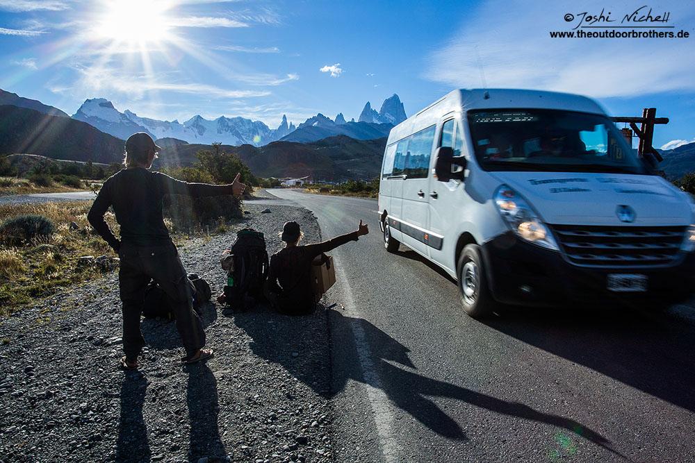 Trampen in Patagonien