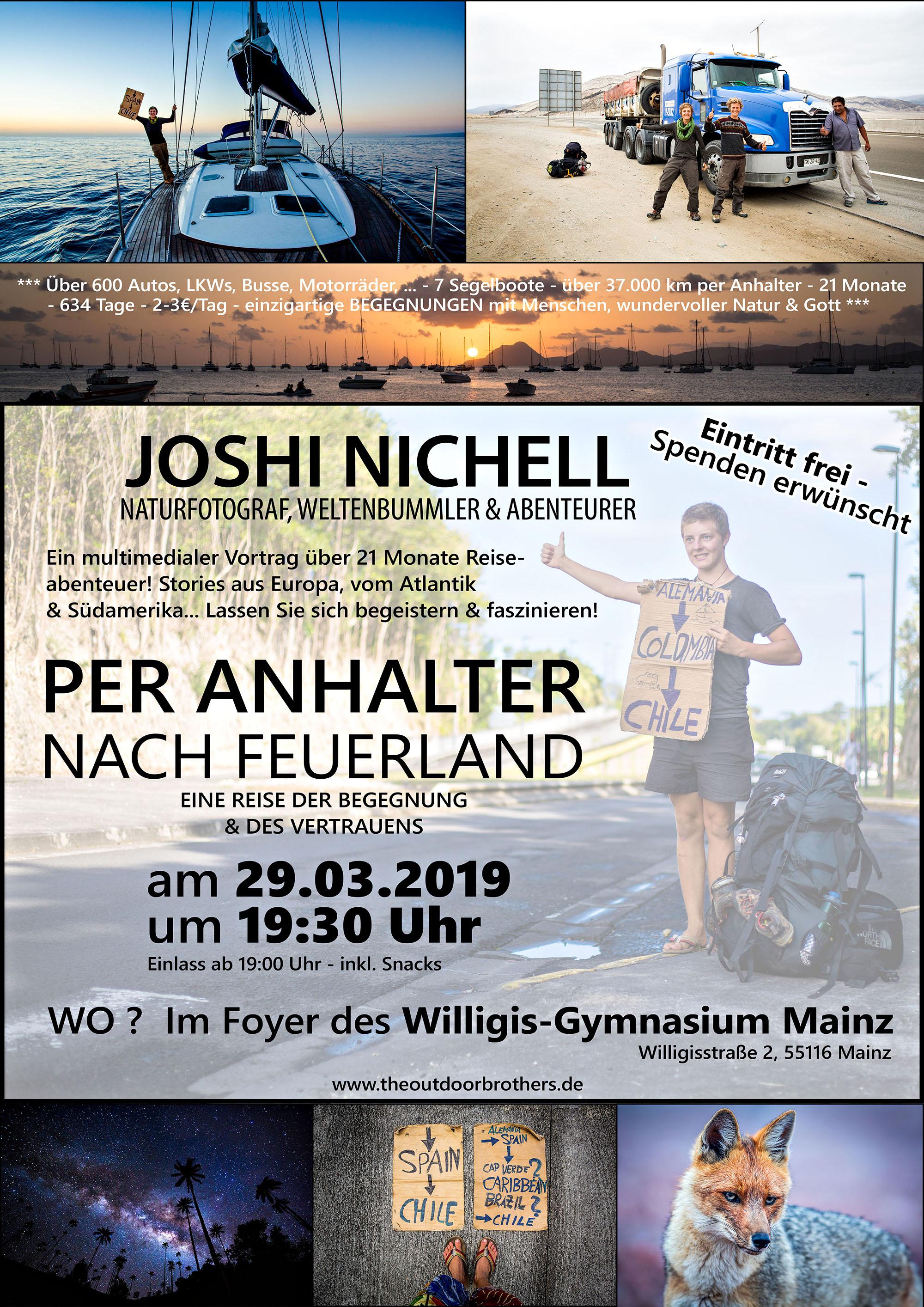 mulotimedialer Vortrag von Joshi Nichell